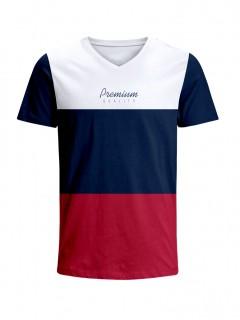 Camiseta para Hombre Tejido de Punto 96% Algodón 4% Elastano Manga Corta Nexxos 39658-000