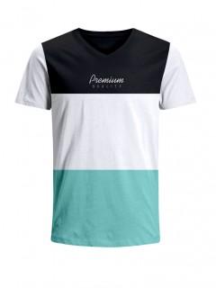 Camiseta para Hombre Tejido de Punto 96% Algodón 4% Elastano Manga Corta Nexxos 39658-008