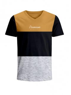 Camiseta para Hombre Tejido de Punto 96% Algodón 4% Elastano Manga Corta Nexxos 39658-067