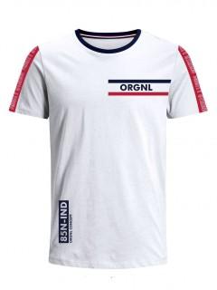 Camiseta para Niño Tejido de Punto 100% Algodón Peinado Abierto Manga Corta Nexxos 45306