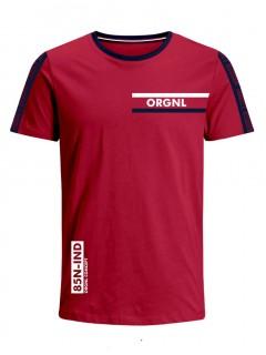 Camiseta para Niño Tejido de Punto 100% Algodón Peinado Abierto Manga Corta Nexxos 45306-001