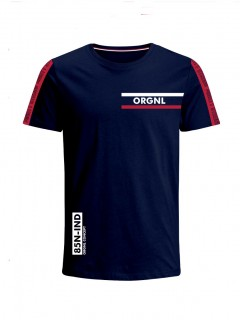 Camiseta para Niño Tejido de Punto 100% Algodón Peinado Abierto Manga Corta Nexxos 45306-005