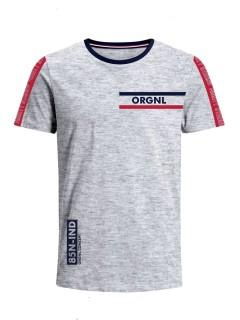 Camiseta para Niño Tejido de Punto 100% Algodón Peinado Abierto Manga Corta Nexxos 45306-018