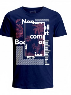 Camiseta para Niño Tejido de Punto 100% Algodón Tubular Manga Corta Nexxos 45290-005