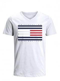 Camiseta para Niño Tejido de Punto 96% Algodón 4% Elastano Manga Corta Nexxos 45263