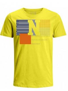 Camiseta para Niño Tejido de Punto 96% Algodón 4% Elastano Manga Corta Nexxos 45284-080