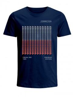 Camiseta para Niño Tejido de Punto 96% Algodón 4% Elastano Manga Corta Nexxos 45289-005