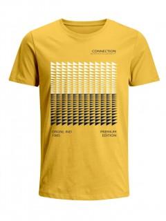 Camiseta para Niño Tejido de Punto 96% Algodón 4% Elastano Manga Corta Nexxos 45289-080