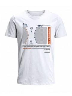 Camiseta para Niño Tejido de Punto 96% Algodón 4% Elastano Manga Corta Nexxos 45315