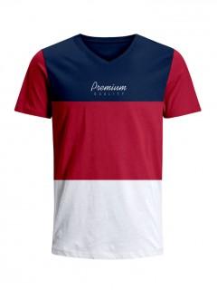 Camiseta para Niño Tejido de Punto 96% Algodón 4% Elastano Manga Corta Nexxos 45318-005