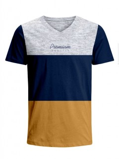 Camiseta para Niño Tejido de Punto 96% Algodón 4% Elastano Manga Corta Nexxos 45318-018