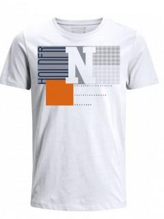 Camiseta para Hombre Tejido de Punto 96% Algodón 4% Elastano Manga Corta Nexxos 39622-000