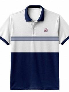 Camiseta para Hombre Tipo Polo en Tejido Fraccionado 96% Algodón 4% Elastano Manga Corta Nexxos 39548-000
