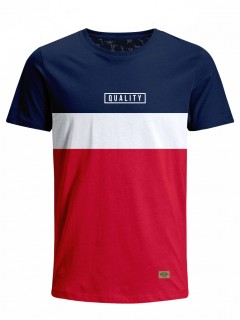 Camiseta para Hombre Tejido de Punto 96% Algodón 4% Elastano Manga Corta Nexxos 39782-005