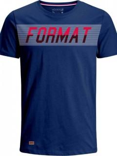 Camiseta para Hombre en Tejido de Punto 96% Algodón 4% Elastano Manga Corta  Nexxos 39374