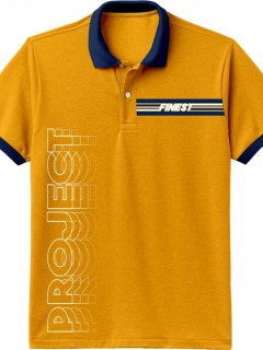Camiseta para Niño tipo Polo en Tejido Fraccionado Pique 96% Algodón 4% Elastano Manga Corta  Nexxos 45194