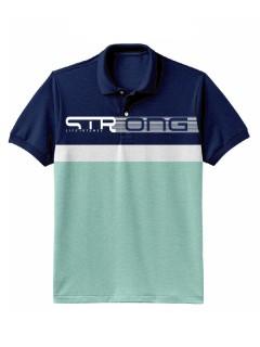 Camiseta para hombre en Tejido Fraccionado 96% Algodón 4% Elastano Manga Corta marca Nexxos 39670-005