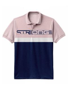 Camiseta para hombre en Tejido Fraccionado 96% Algodón 4% Elastano Manga Corta marca Nexxos 39670-420