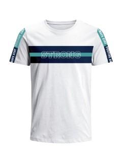 Camiseta para hombre en Tejido De Punto 96% Algodón 4% Elastano Manga Corta marca Nexxos 39679-000
