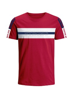 Camiseta para hombre en Tejido De Punto 96% Algodón 4% Elastano Manga Corta marca Nexxos 39679-001