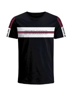 Camiseta para hombre en Tejido De Punto 96% Algodón 4% Elastano Manga Corta marca Nexxos 39679-008