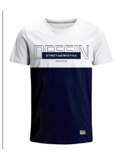 Camiseta para hombre en Tejido De Punto 96% Algodón 4% Elastano Manga Corta marca Nexxos 39680-000
