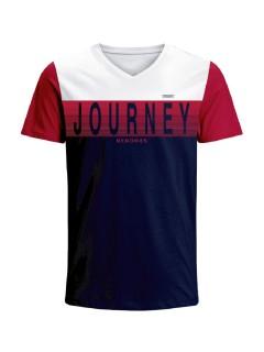 Camiseta para hombre en Tejido De Punto 96% Algodón 4% Elastano Manga Corta marca Nexxos 39681-000
