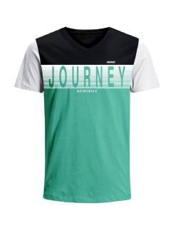 Camiseta para hombre en Tejido De Punto 96% Algodón 4% Elastano Manga Corta marca Nexxos 39681-008