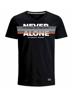 Camiseta para hombre en Tejido De Punto 96% Algodón 4% Elastano Manga Corta marca Nexxos 39685-008