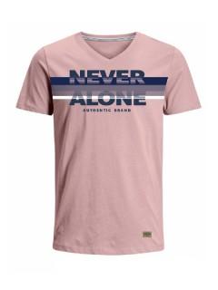 Camiseta para hombre en Tejido De Punto 96% Algodón 4% Elastano Manga Corta marca Nexxos 39685-420