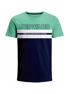 Camiseta para hombre en Tejido De Punto 96% Algodón 4% Elastano Manga Corta marca Nexxos 39736-410