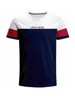 Camiseta para hombre en Tejido De Punto 96% Algodón 4% Elastano Manga Corta marca Nexxos 39737-000