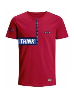 Camiseta para hombre en Tejido De Punto 96% Algodón 4% Elastano Manga Corta marca Nexxos 39759-001