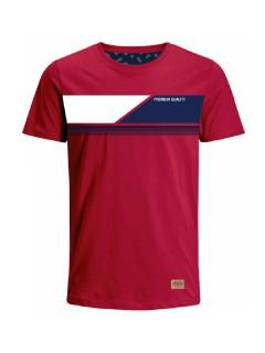 Camiseta para hombre en Tejido De Punto 96% Algodón 4% Elastano Manga Corta marca Nexxos 39761-001