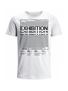 Camiseta para hombre en Tejido De Punto 100% Algodón Tubular Manga Corta marca Nexxos 39766-000