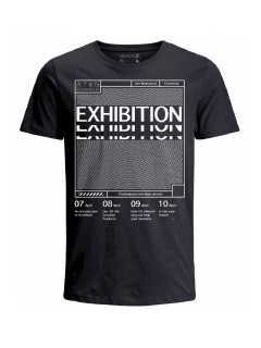 Camiseta para hombre en Tejido De Punto 100% Algodón Tubular Manga Corta marca Nexxos 39766-008