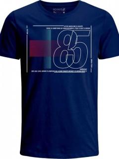 Camiseta para Niño en Tejido de Punto 96% Algodón 4% Elastano Manga Corta  Nexxos 45218