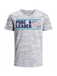 Camiseta para hombre en Tejido De Punto 100% Algodón Peinado Abierto Manga Corta marca Nexxos 39771-018