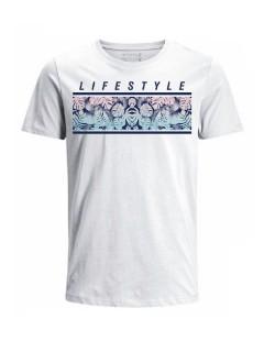Camiseta para hombre en Tejido De Punto 100% Algodón Peinado Abierto Manga Corta marca Nexxos 39772-000