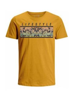 Camiseta para hombre en Tejido De Punto 100% Algodón Peinado Abierto Manga Corta marca Nexxos 39772-067
