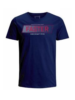 Camiseta para hombre en Tejido De Punto 100% Algodón Peinado Abierto Manga Corta marca Nexxos 39773-005
