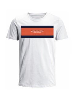 Camiseta para hombre en Tejido De Punto 100% Algodón Peinado Abierto Manga Corta marca Nexxos 39775-000