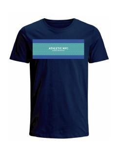 Camiseta para hombre en Tejido De Punto 100% Algodón Peinado Abierto Manga Corta marca Nexxos 39775-005