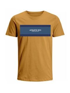 Camiseta para hombre en Tejido De Punto 100% Algodón Peinado Abierto Manga Corta marca Nexxos 39775-067