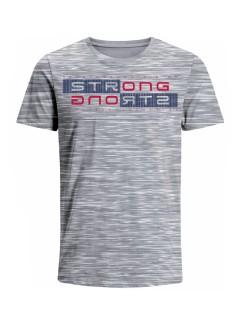 Camiseta para hombre en Tejido De Punto 96% Algodón 4% Elastano Manga Corta marca Nexxos 39777-018