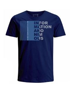 Camiseta para hombre en Tejido De Punto 100% Algodón Peinado Abierto Manga Corta marca Nexxos 39779-005