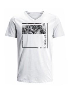 Camiseta para hombre en Tejido De Punto 100% Algodón Peinado Abierto Manga Corta marca Nexxos 39787-000
