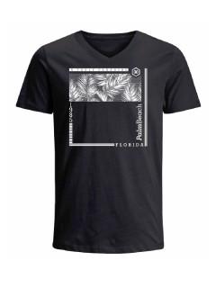 Camiseta para hombre en Tejido De Punto 100% Algodón Peinado Abierto Manga Corta marca Nexxos 39787-008
