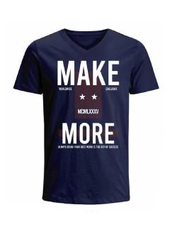 Camiseta para hombre en Tejido De Punto 100% Algodón Tubular Manga Corta marca Nexxos 39793-005