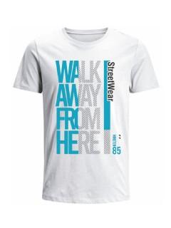 Camiseta para hombre en Tejido De Punto 100% Algodón Tubular Manga Corta marca Nexxos 39800-000
